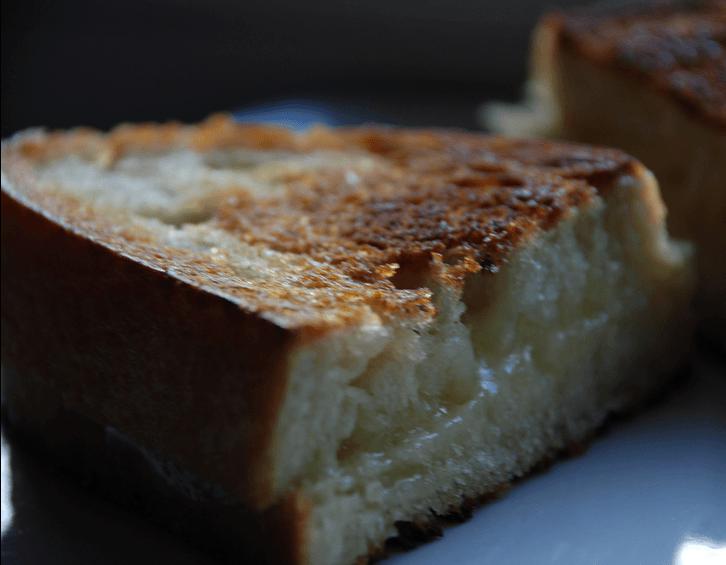 Sweet and creamy sandwich