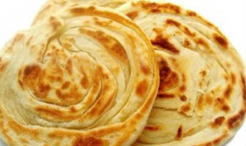 lachha paratha indian roti