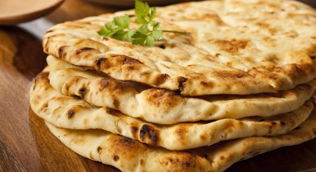 indian naan roti type