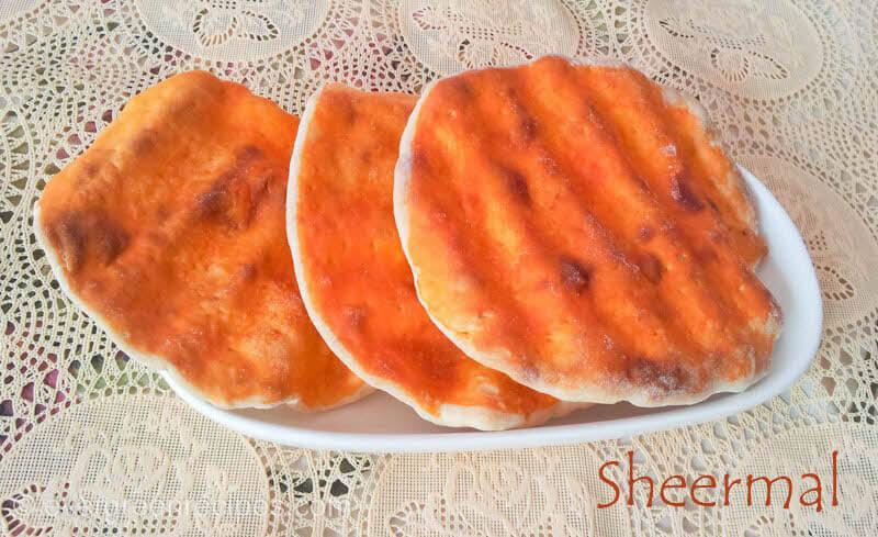 sheermal indian roti