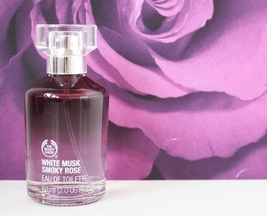 The Body Shop White Musk smoky Rose Fragrance Mist