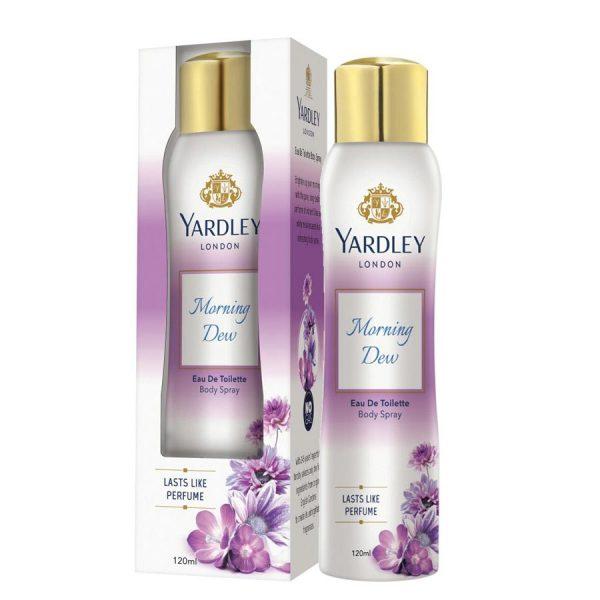 Yardley Morning Dew Deodrant Spray Body Mist