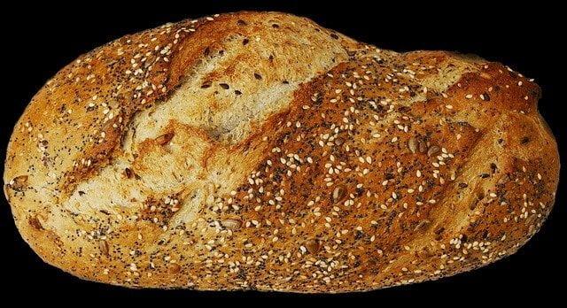 Sesame Seeds Sprinkled Bread