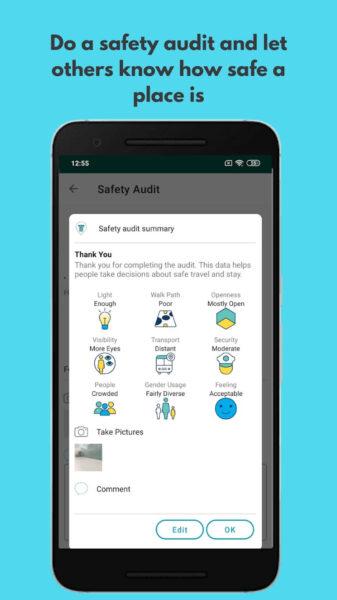 Safetipin App