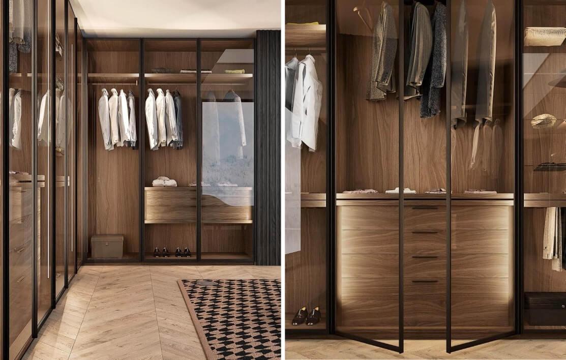 View 3: Infinity Walk in Wardrobe