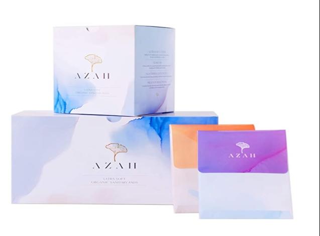 Azah Ultra Soft Organic sanitary pads