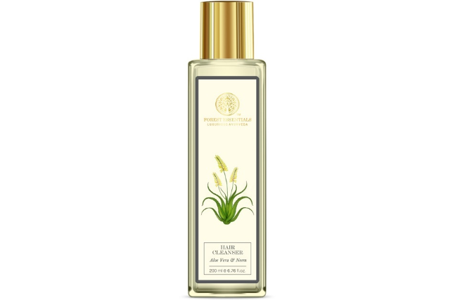 Forest Essentials Aloe Vera & Neem Hair Cleanser