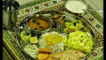 Gudi Padwa Thali