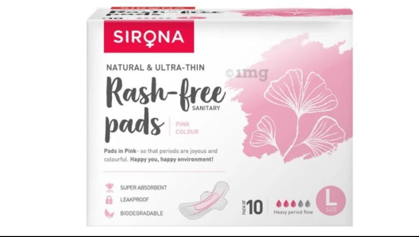 Sirona Rash free pads