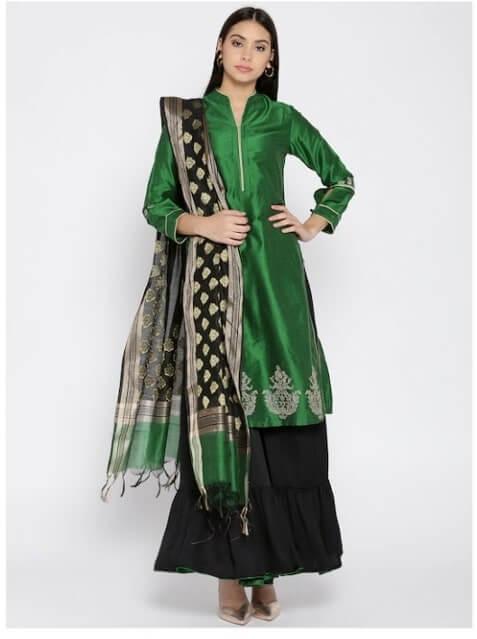 Biba green dress