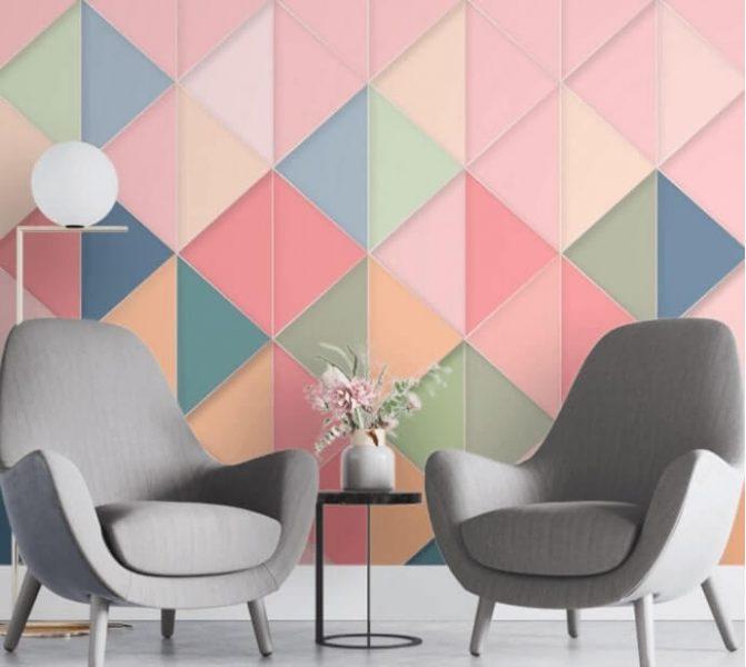 Colourful Geometric Pattern