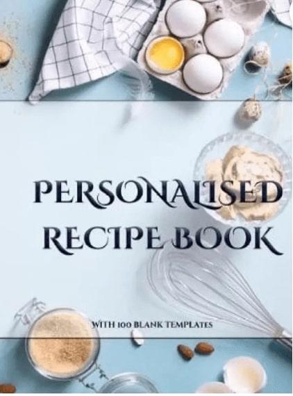 Personalised Recipe Book