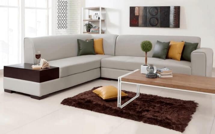 EVOK Alden Leatherette Sofa Set