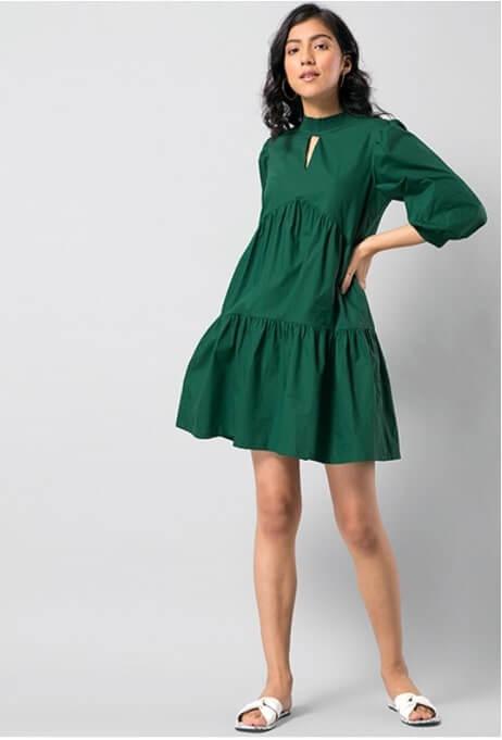 fabAlly green dress