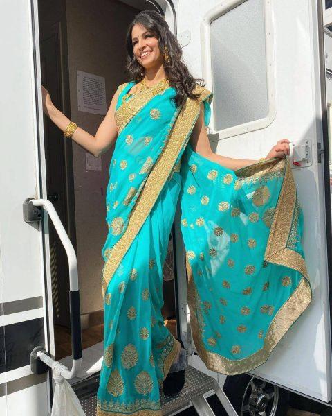 The Cultural Representation- Saree Look