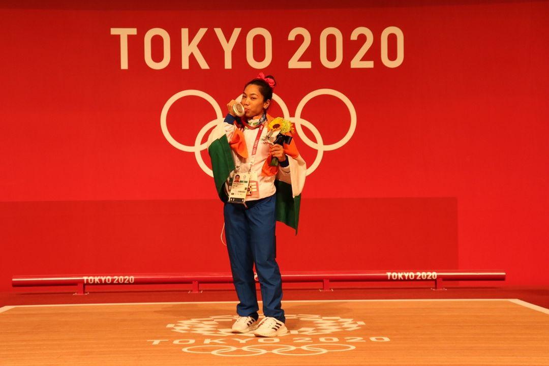 Mirabai Chanu Tokyo Olympics 2020