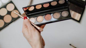 Mini Eye Shadow Palette and Brush
