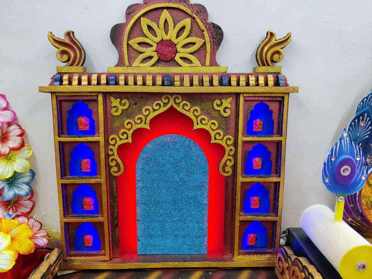 Ganpati decorative makhar