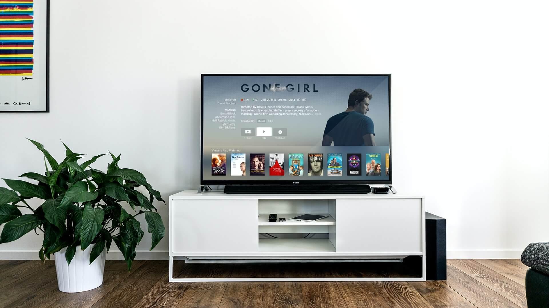 Smart TVs for entertainment