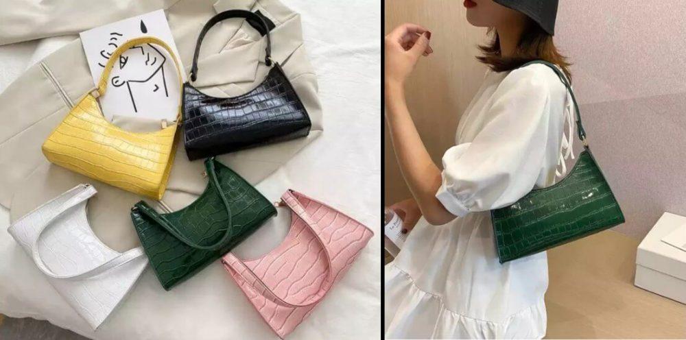 Y2K Fashion Baguette Bags