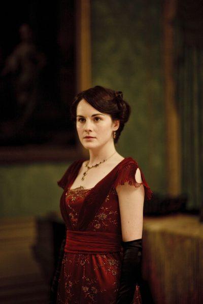 Lady Mary Michelle Dockery Downton Abbey The Spanish Dress