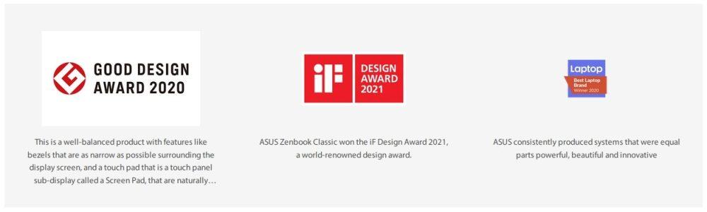 ASUS Design awards