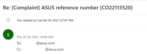 Asus CEO Reminder