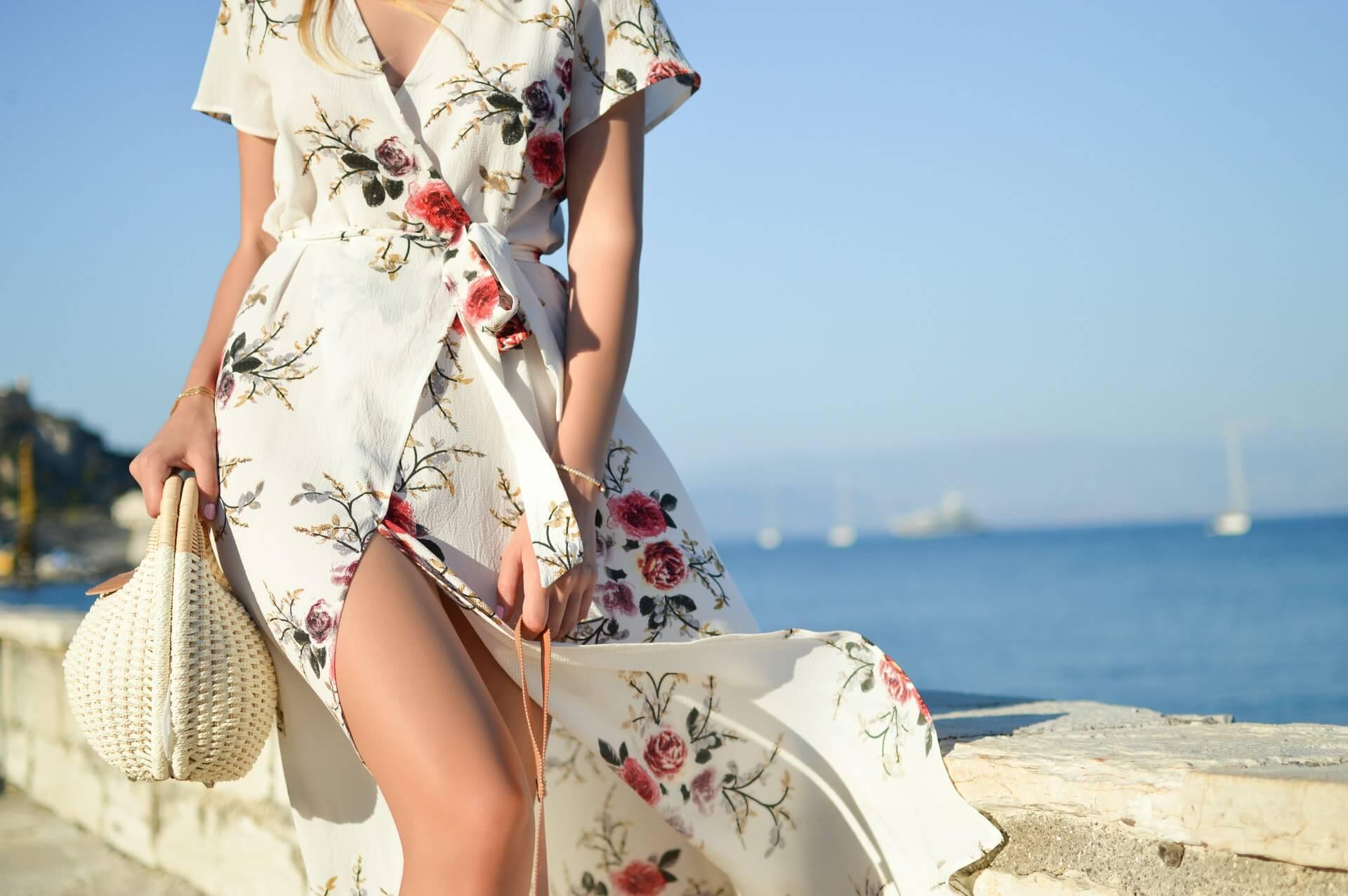 Beach look Maxi Dress