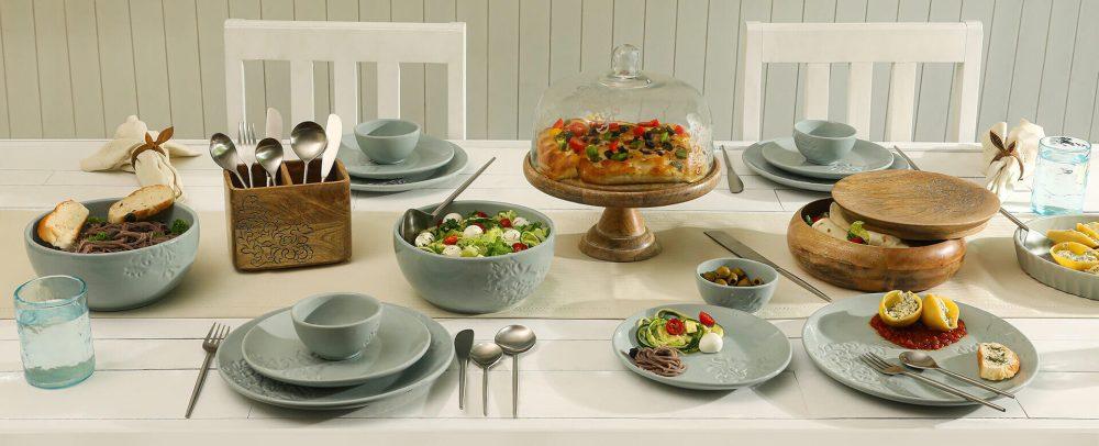 Ellementry Upper Crust Dinnerware Set