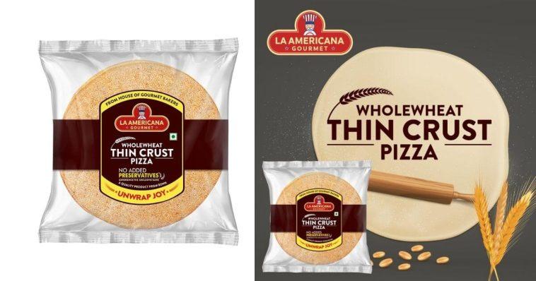 La Americana Gourmet Wholewheat Thin Crust Pizza Base