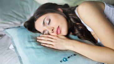 Woman Sleeping Bedtime